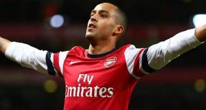 Theo Walcott baja sensible para el Arsenal y la Selección Inglesa